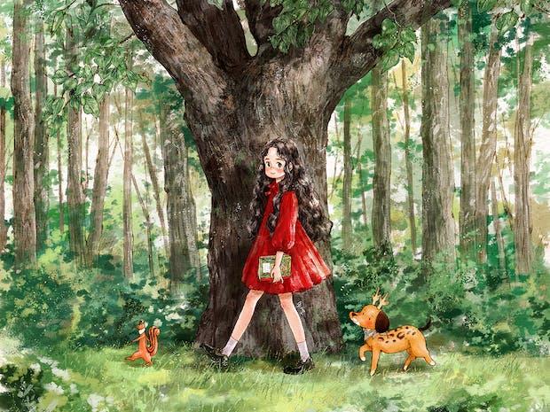 애뽈의 2020 숲소녀 다이어리&달력 이미지