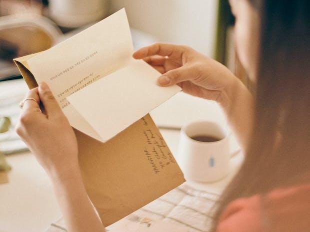 [월간편지서비스] 당신께 보내는 작가의 편지 - '감정'편 이미지
