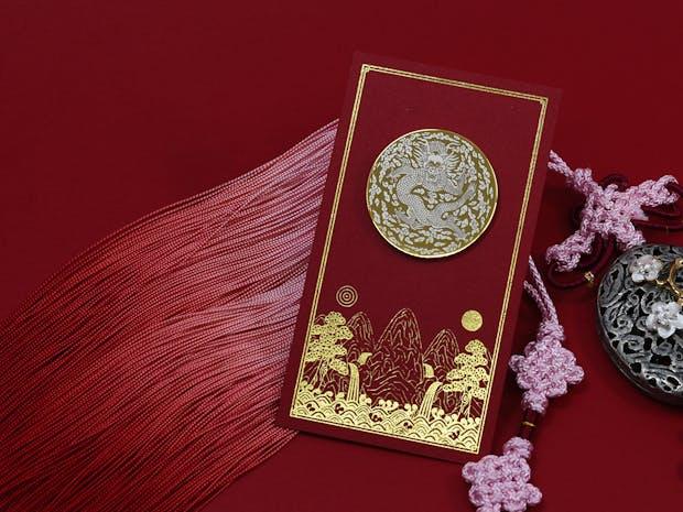 조선의 왕과 왕의 용, 오조룡보 뱃지 이미지