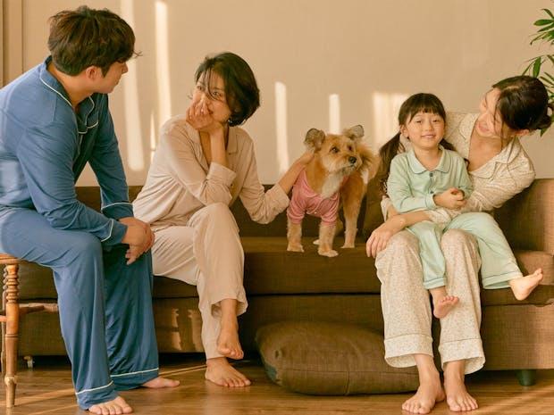 새로운 가족을 위한 잠옷, 모던 패밀리 파자마 이미지