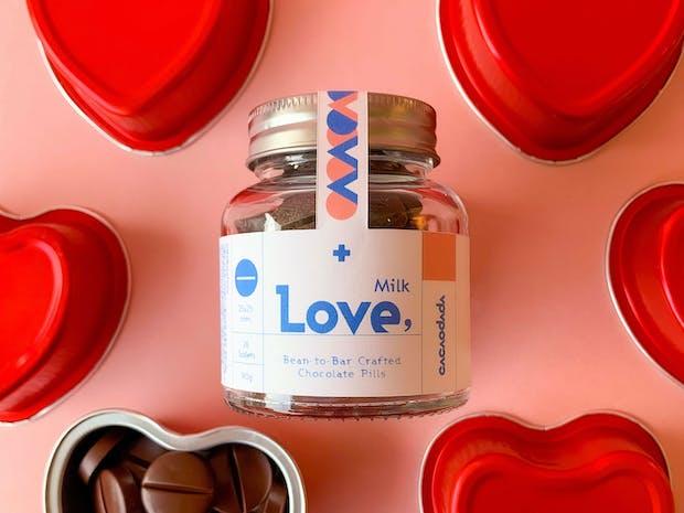 초콜릿공장의 특별한 처방, LOVE&POWER 초콜릿알약! 이미지